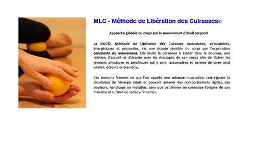 MLC gymnastique (antistress et relaxation)