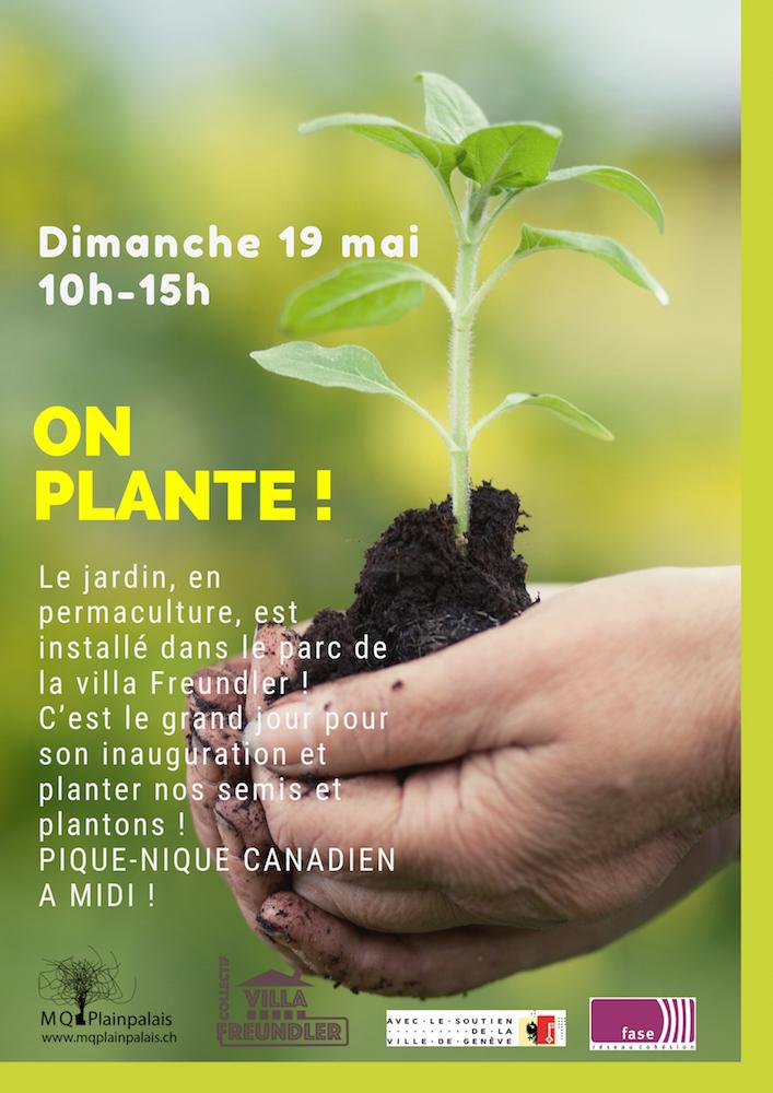 plantation du 19 mai