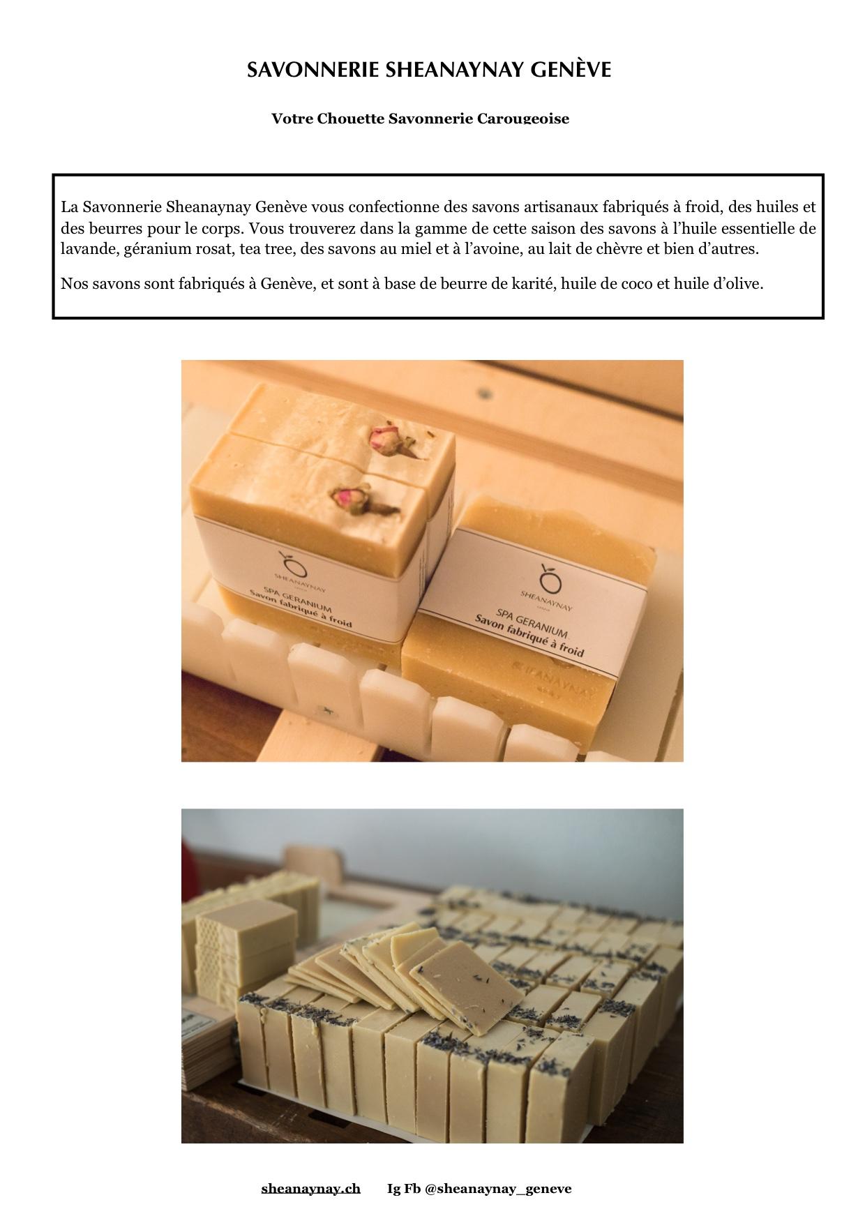 Kwame Okyere - Sheanaynay Genève, savonnerie artisanale